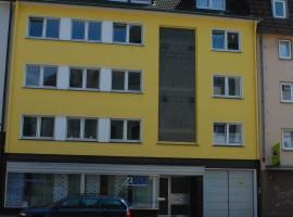 Nebenstraße in Frohnhausen, Balkon,