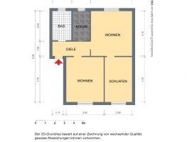 Zwischen den Stadtteilen Essen-Holsterhausen und Essen-Frohnhausen! Gepflegte Wohnung mit modernem Badezimmer!
