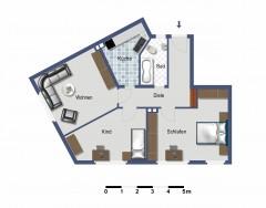 Bezugsfertig! Moderne Wohnung in zentraler Lage!