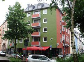 Wohnen am Isenbergplatz über dem Café de Prins!