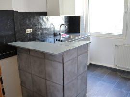 2,5 Raum Wohnung mit Gemeinschaftsgarten. PKW-Stellplatz möglich.