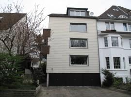 Repräsentatives wohnen auf 2 Etagen mit eigenem Aufzug! Balkon + Garage vorh. Haumannplatz-Viertel.