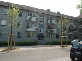Nebenstraße in Kray Süd mit  Gartenmitnutzung, 2 Zimmer + Küche/Diele/Bad