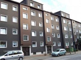 Altenessen. 3,5 Raum mit Balkon im Erdgeschoss. Mit Gemeinschaftsgarten.