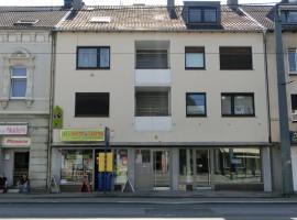 3-Raum-Wohnung mit 2 Badezimmern und schönem Balkon in Bedingrade