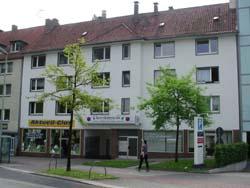 Innenstadt zwischen Rathaus und Universität