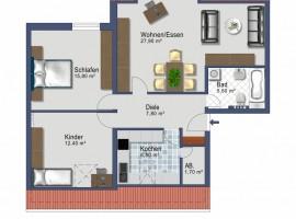 WG geeignet! Altenessen, Nähe Allee-Center. Großes Wohnzimmer. Garage, Stellplatz vorhanden. Einbauküche möglich.