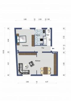 2,5 Zimmer im Zentrum von Essen-Borbeck!