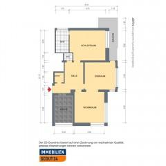 3 Zimmer-Wohnung mit Balkon Nähe Essen-Stadtmitte!