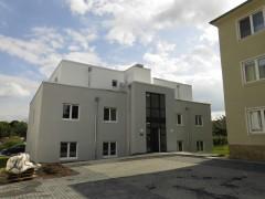 Oberste Etage im barrierefreien Neubau 2018 - moderne 2-Raum-Wohnung mit Balkon