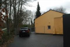Freistehendes Hofgebäude mit Terrasse und Garten, 124m² .