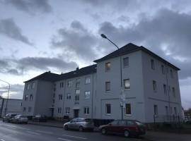 Schöne und helle Wohnung mit G-WC, Garten und PKW-Stellplatz.