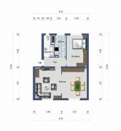 2,5 Zimmer-Wohnung im Zentrum von Essen-Borbeck!