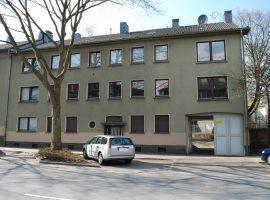 2,5 Raum Wohnung mit Gemeinschaftsgarten.