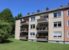 2,5 Zimmer-Wohnung in Sackgasse gelegen mit tollem Ausblick über Essen!